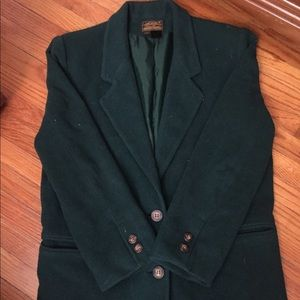 Eddie Bauer forest green blazer